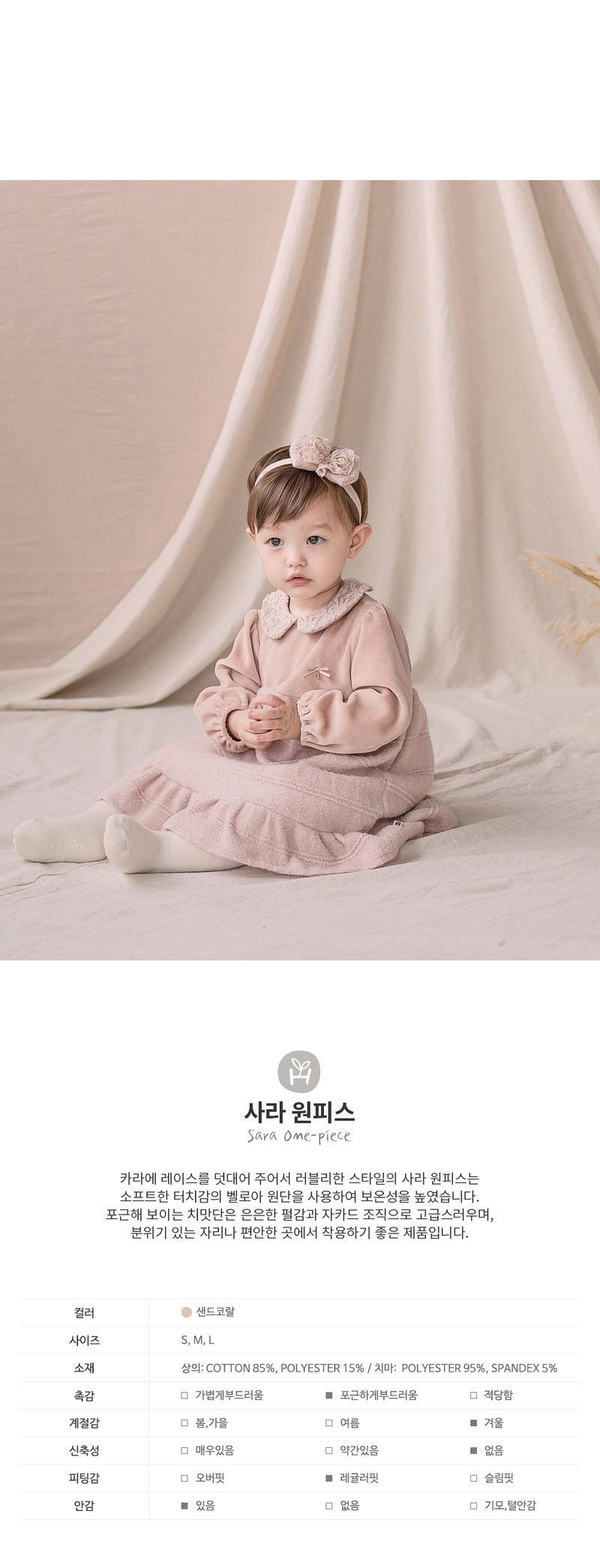 HAPPY PRINCE - Korean Children Fashion - #Kfashion4kids - Sara One-piece