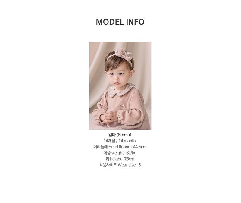 HAPPY PRINCE - Korean Children Fashion - #Kfashion4kids - Sara One-piece - 10