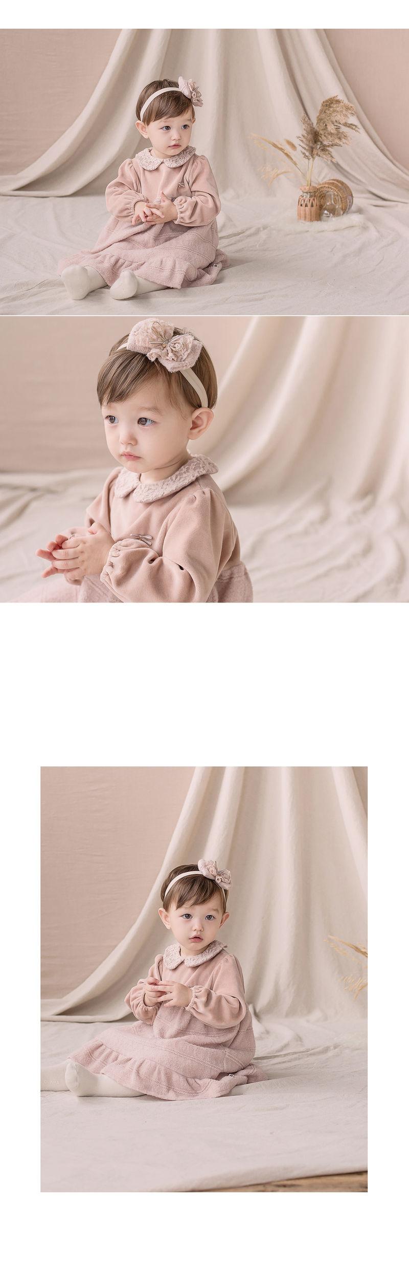 HAPPY PRINCE - Korean Children Fashion - #Kfashion4kids - Sara One-piece - 2