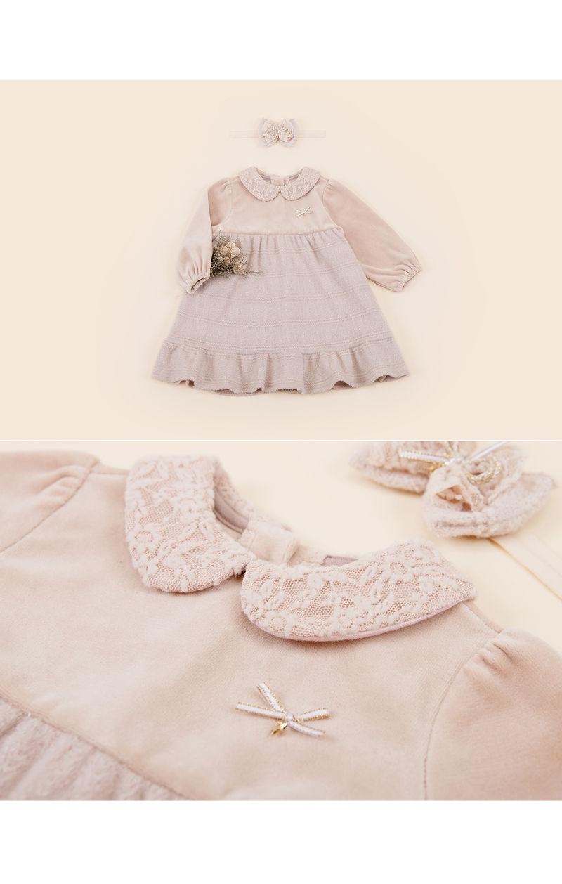HAPPY PRINCE - Korean Children Fashion - #Kfashion4kids - Sara One-piece - 4