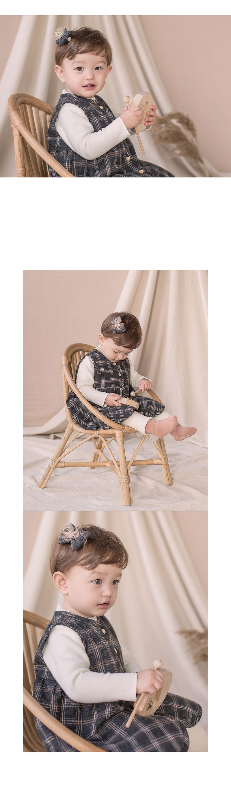 HAPPY PRINCE - Korean Children Fashion - #Kfashion4kids - Ivy Quilt Vest One-piece - 2