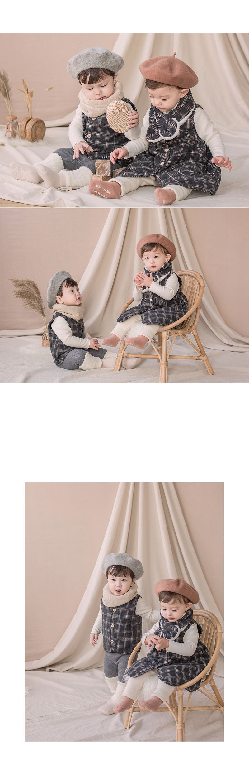 HAPPY PRINCE - Korean Children Fashion - #Kfashion4kids - Ivy Quilt Vest One-piece - 5