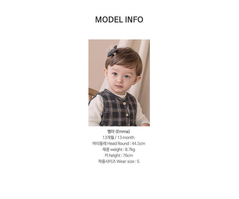 HAPPY PRINCE - Korean Children Fashion - #Kfashion4kids - Ivy Quilt Vest One-piece - 9