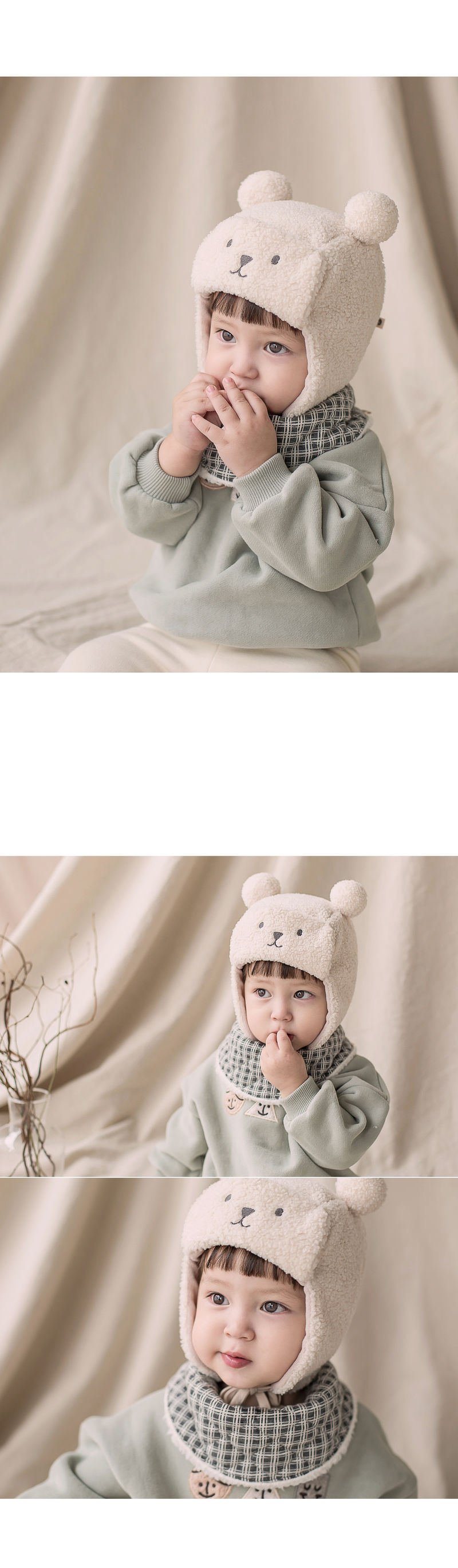 HAPPY PRINCE - Korean Children Fashion - #Kfashion4kids - Zeck Snow Banana Bib - 3