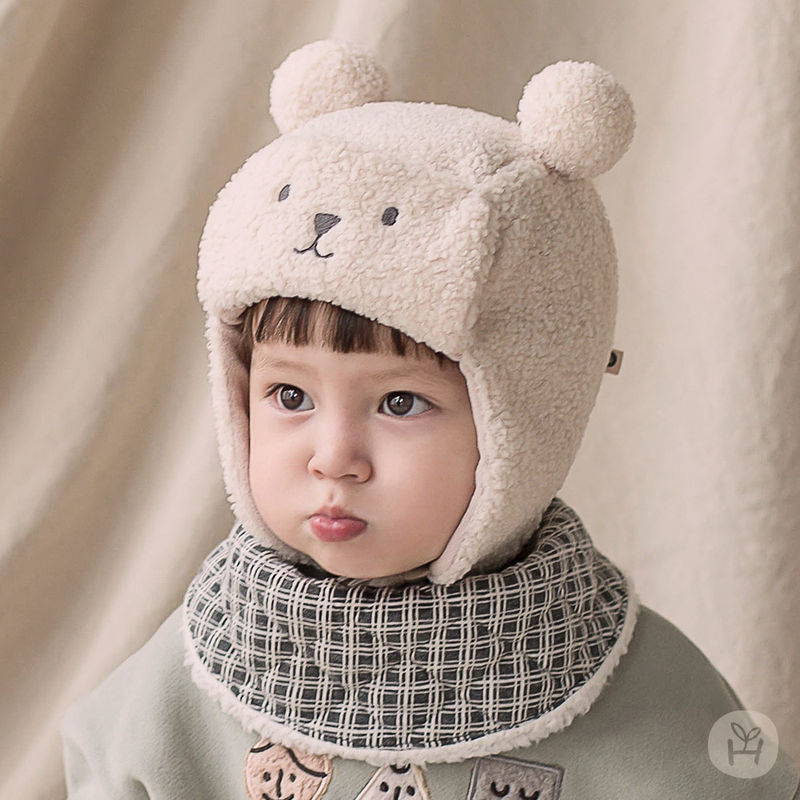 HAPPY PRINCE - BRAND - Korean Children Fashion - #Kfashion4kids - Zeck Snow Banana Bib
