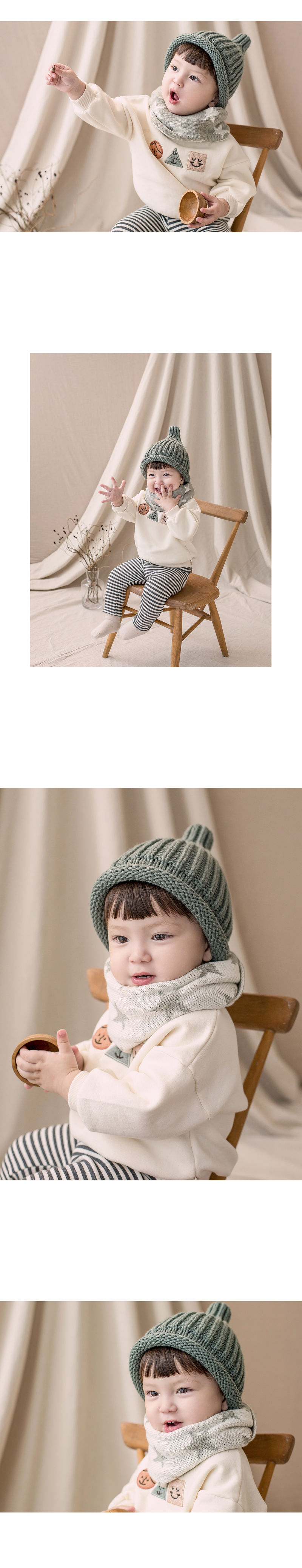 HAPPY PRINCE - Korean Children Fashion - #Kfashion4kids - New Twinkle Double Sided Warmer - 2