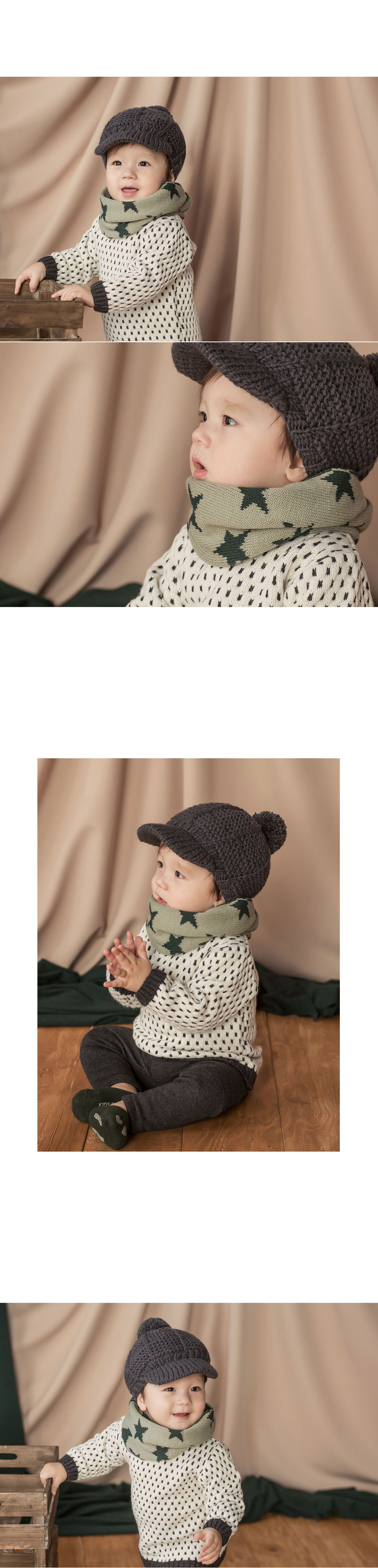 HAPPY PRINCE - Korean Children Fashion - #Kfashion4kids - New Twinkle Double Sided Warmer - 7