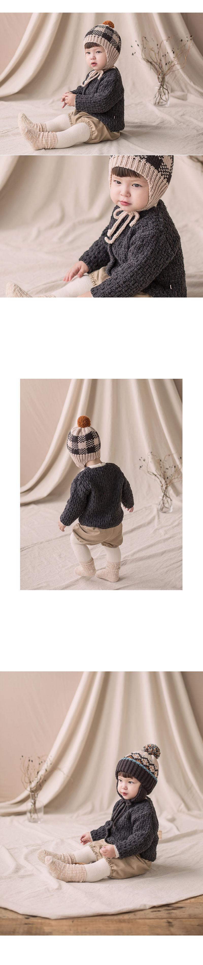 HAPPY PRINCE - Korean Children Fashion - #Kfashion4kids - Le Putti Knit Cardigan - 2