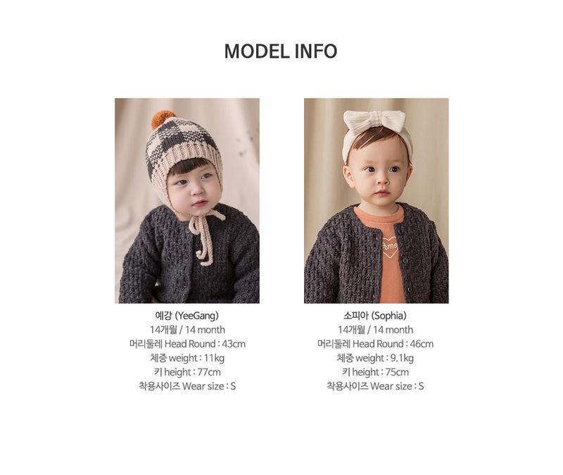 HAPPY PRINCE - Korean Children Fashion - #Kfashion4kids - Le Putti Knit Cardigan - 8