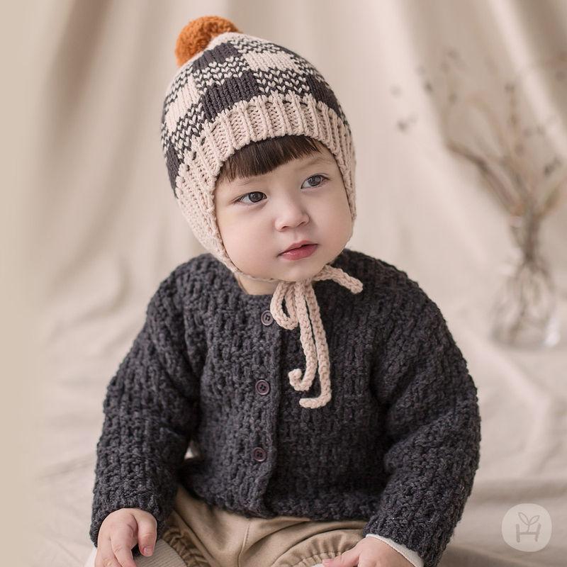 HAPPY PRINCE - BRAND - Korean Children Fashion - #Kfashion4kids - Le Putti Knit Cardigan