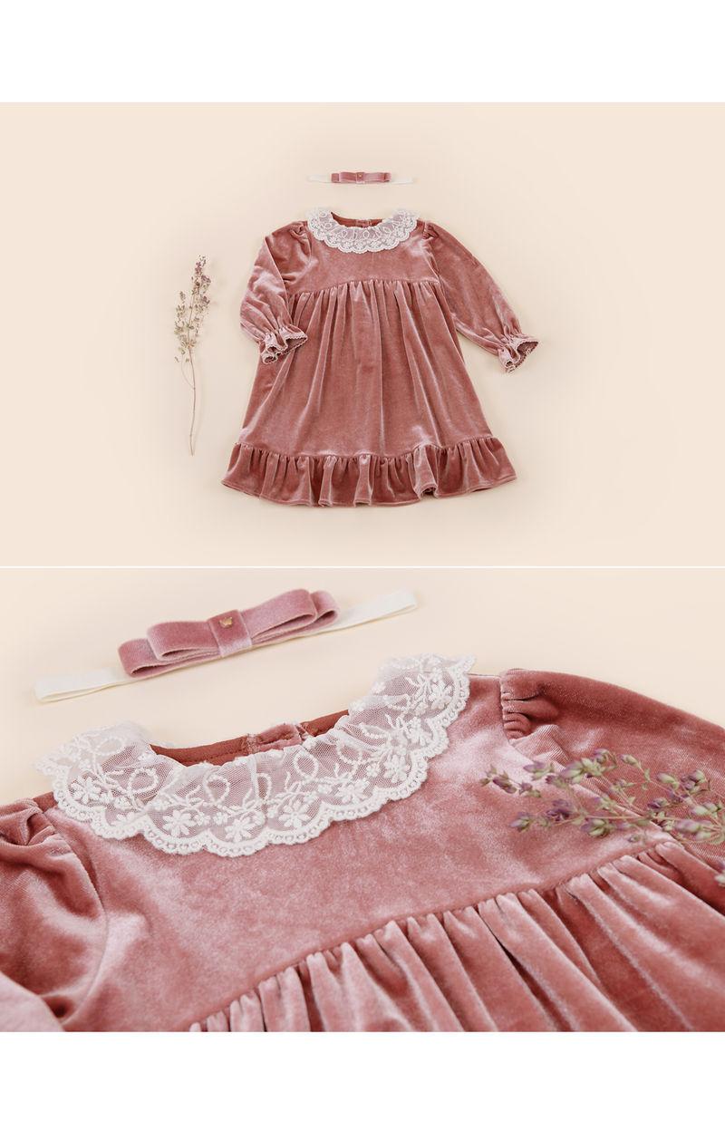 HAPPY PRINCE - Korean Children Fashion - #Kfashion4kids - Shriya One-piece - 3