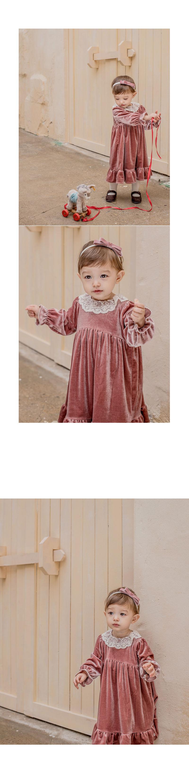 HAPPY PRINCE - Korean Children Fashion - #Kfashion4kids - Shriya One-piece - 4