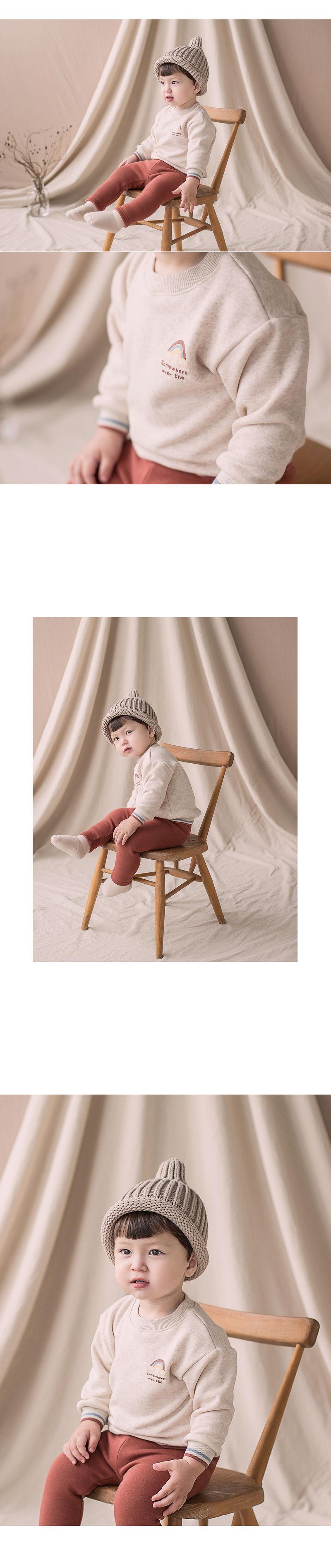 HAPPY PRINCE - Korean Children Fashion - #Kfashion4kids - Owen Fleece Lined Sweatshirt - 2