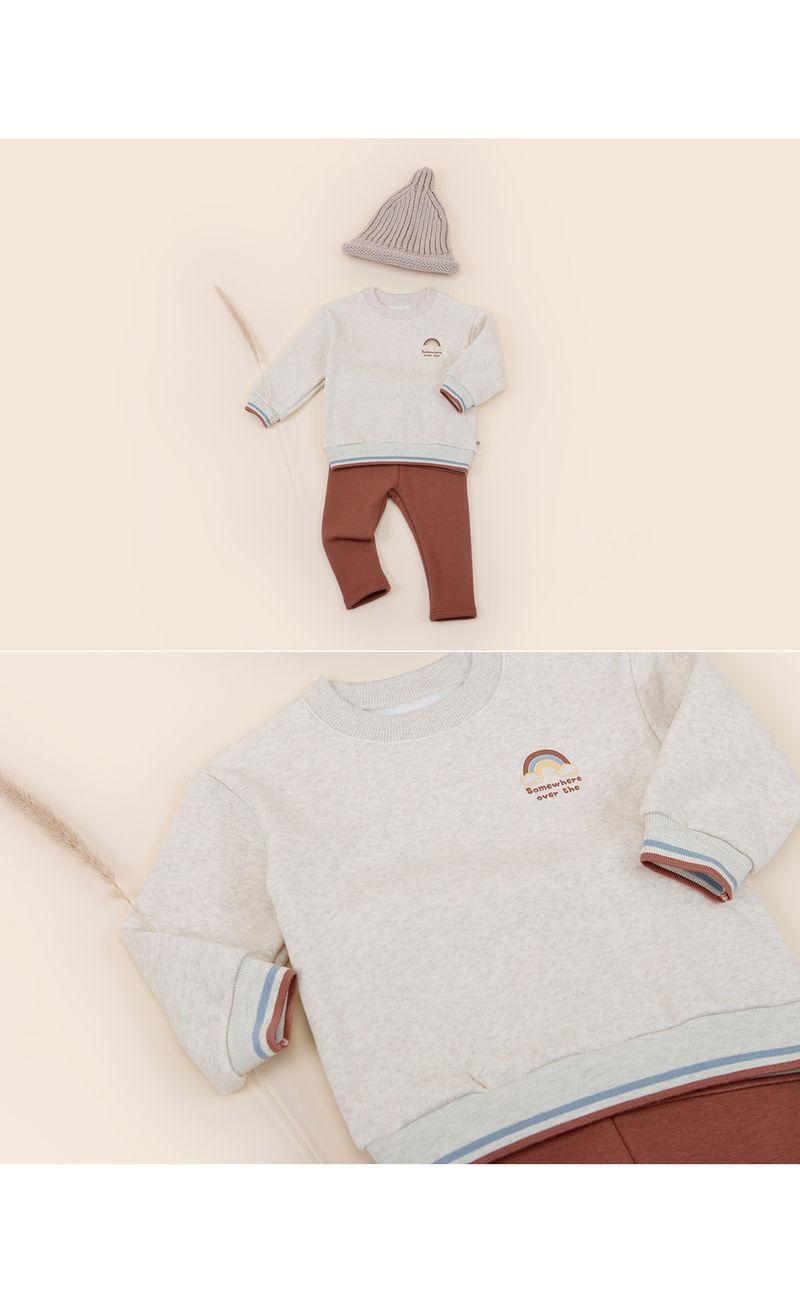 HAPPY PRINCE - Korean Children Fashion - #Kfashion4kids - Owen Fleece Lined Sweatshirt - 3