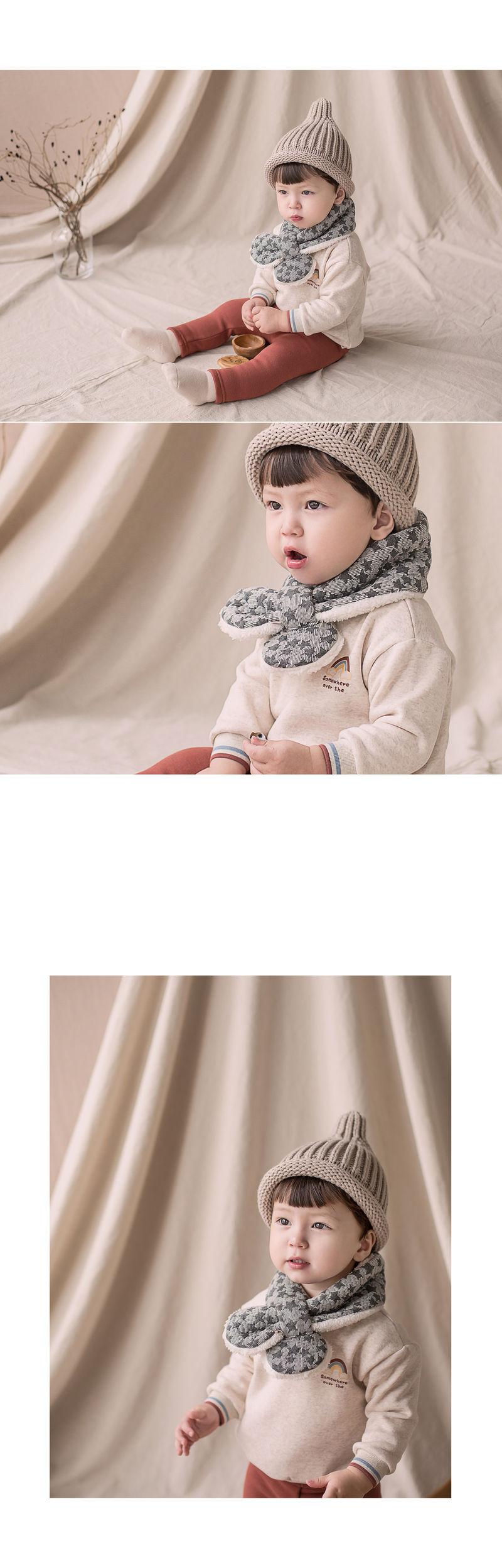 HAPPY PRINCE - Korean Children Fashion - #Kfashion4kids - Owen Fleece Lined Sweatshirt - 4