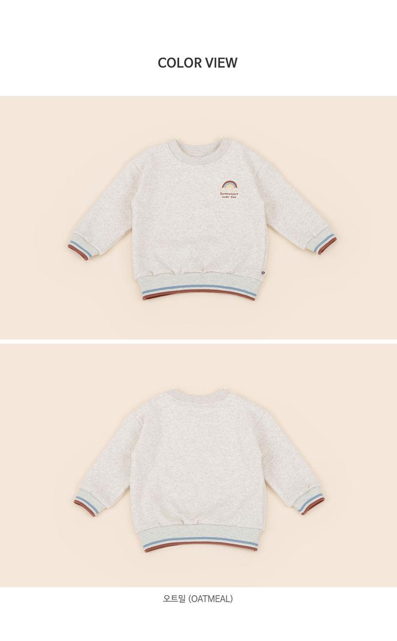 HAPPY PRINCE - Korean Children Fashion - #Kfashion4kids - Owen Fleece Lined Sweatshirt - 6