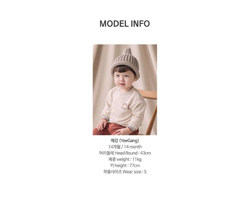 HAPPY PRINCE - Korean Children Fashion - #Kfashion4kids - Owen Fleece Lined Sweatshirt - 8
