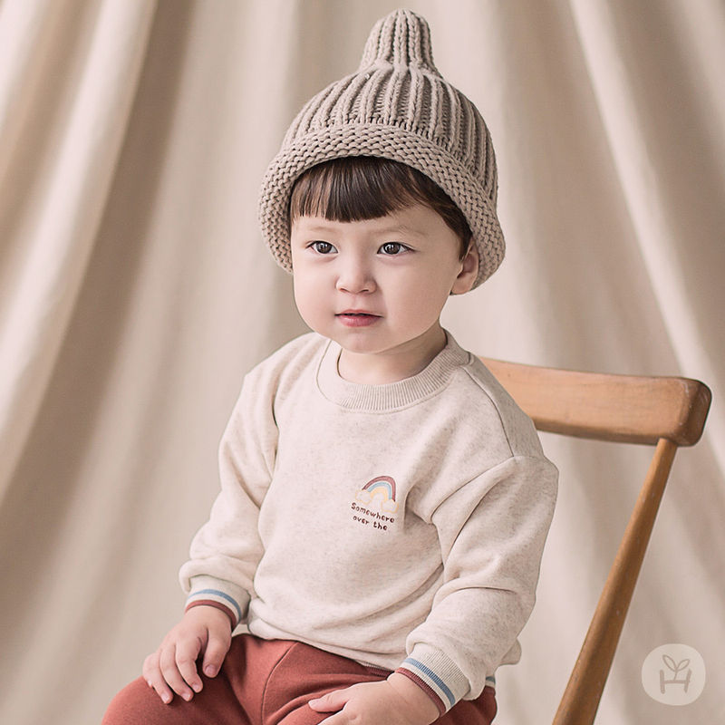 HAPPY PRINCE - BRAND - Korean Children Fashion - #Kfashion4kids - Owen Fleece Lined Sweatshirt