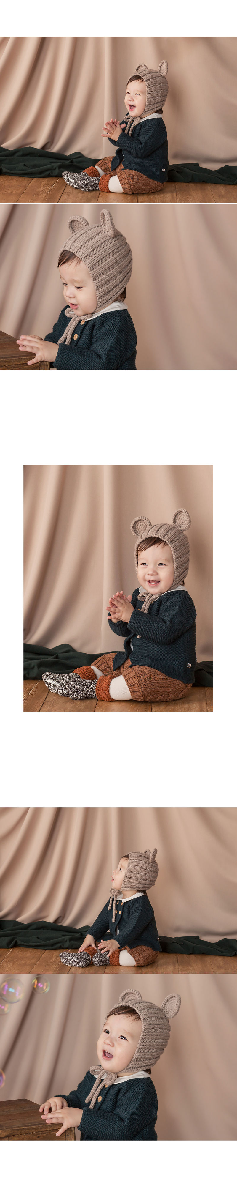 HAPPY PRINCE - Korean Children Fashion - #Kfashion4kids - Nubo Mannsbear Knitting Bear - 4