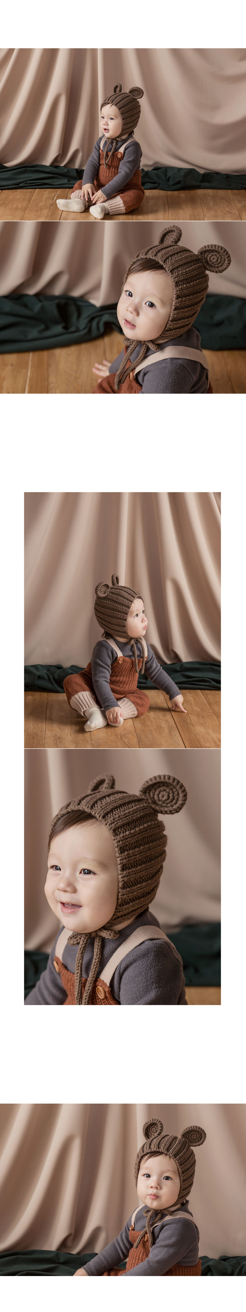 HAPPY PRINCE - Korean Children Fashion - #Kfashion4kids - Nubo Mannsbear Knitting Bear - 5