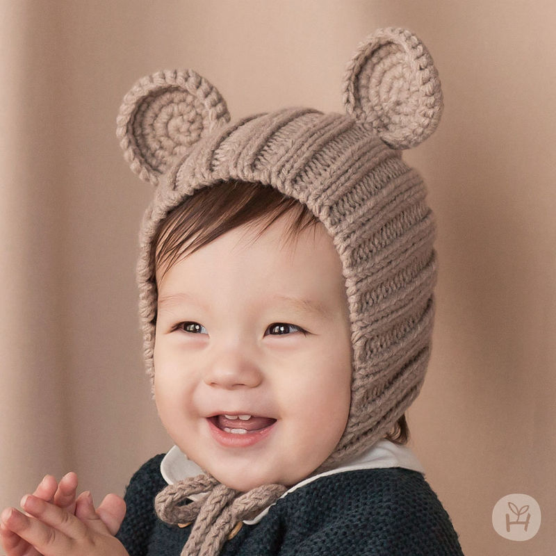HAPPY PRINCE - BRAND - Korean Children Fashion - #Kfashion4kids - Nubo Mannsbear Knitting Bear