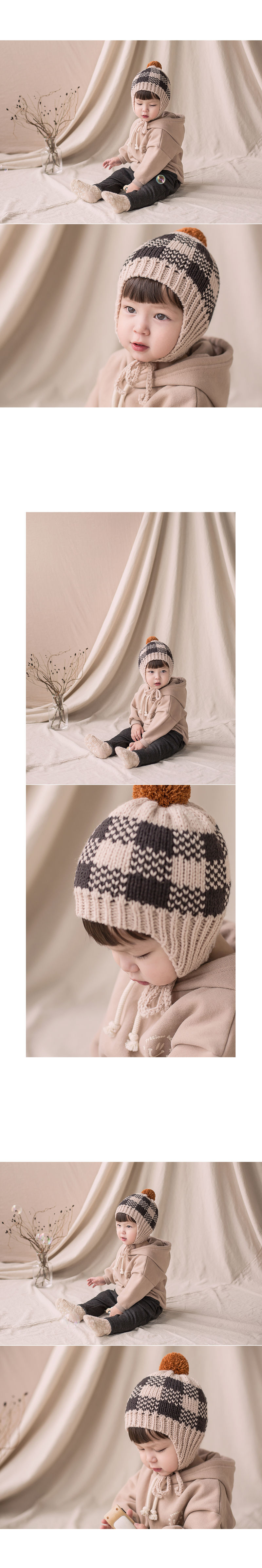 HAPPY PRINCE - Korean Children Fashion - #Kfashion4kids - Tomaen Pompom Woolly Hat - 4