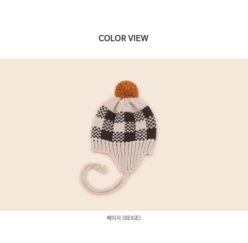 HAPPY PRINCE - Korean Children Fashion - #Kfashion4kids - Tomaen Pompom Woolly Hat - 6