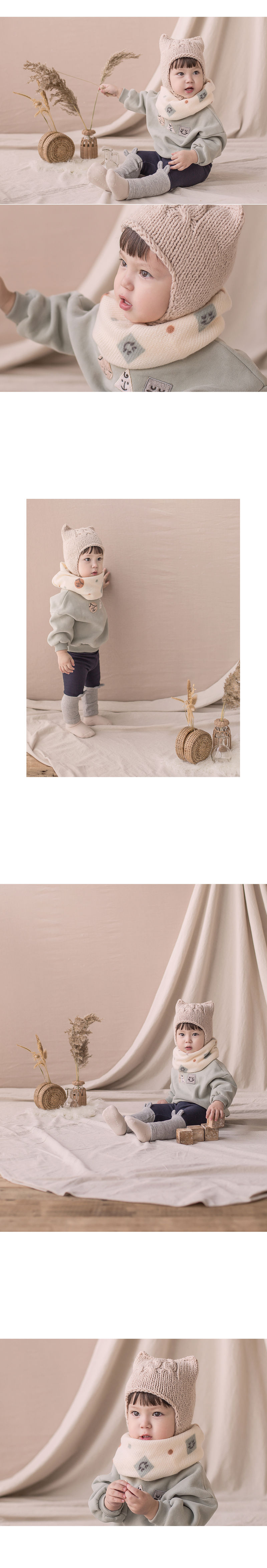 HAPPY PRINCE - Korean Children Fashion - #Kfashion4kids - Woody Warmer - 2