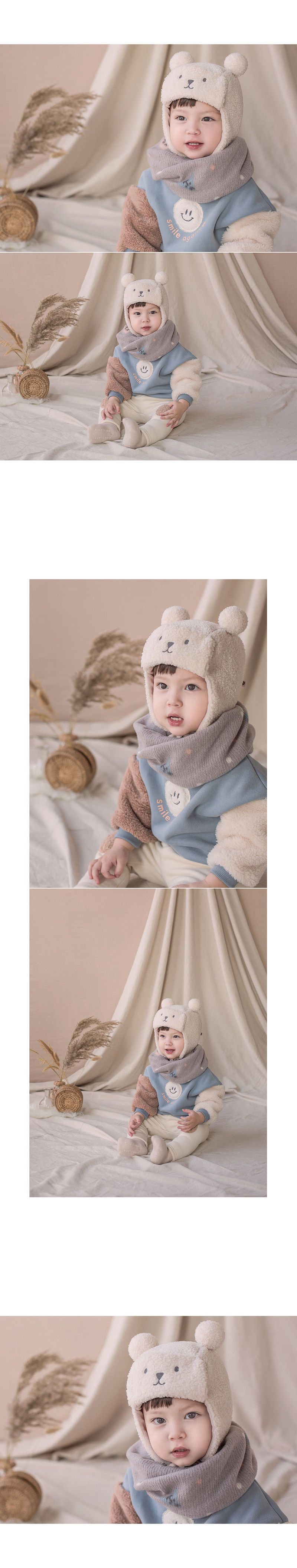 HAPPY PRINCE - Korean Children Fashion - #Kfashion4kids - Woody Warmer - 4
