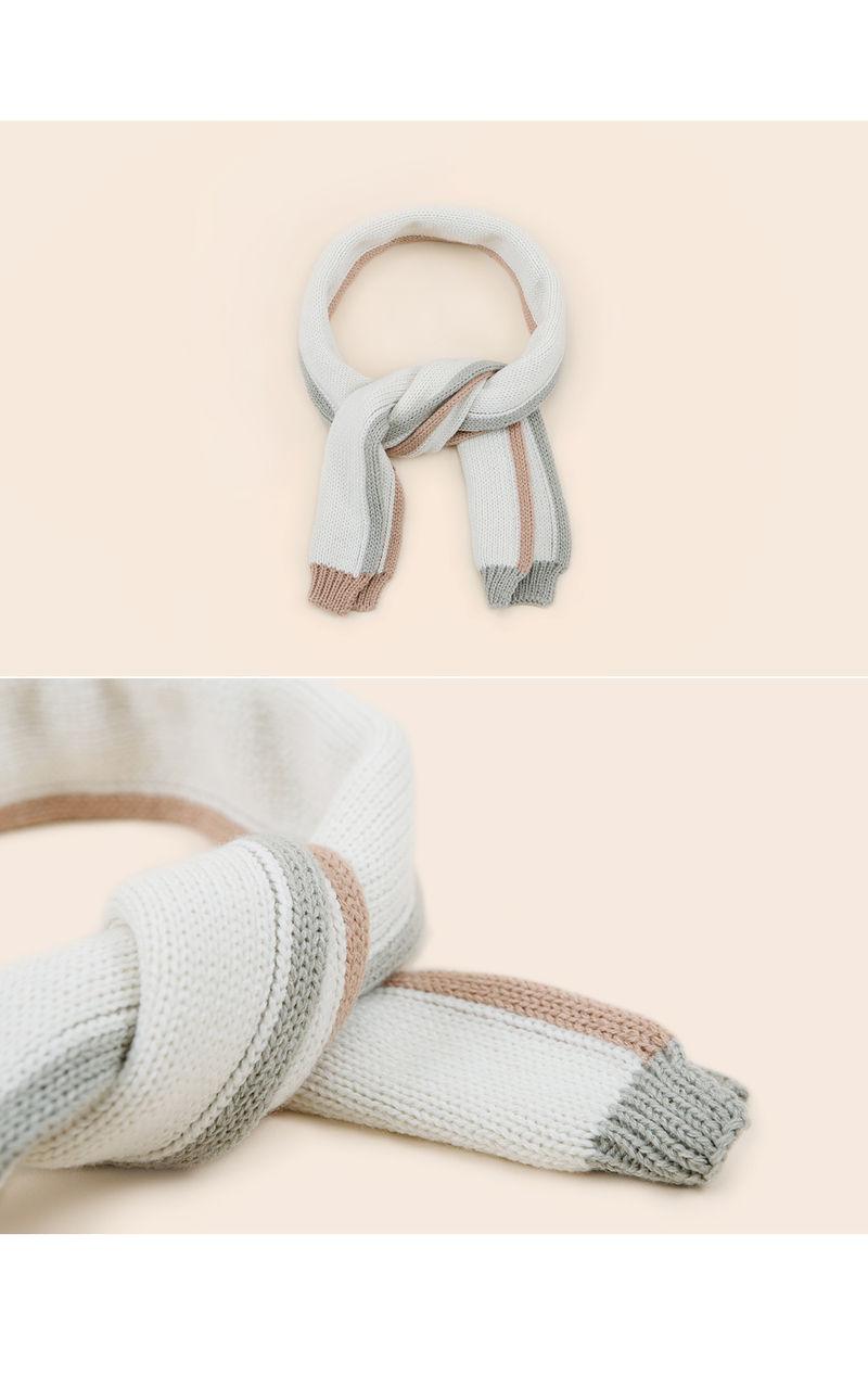 HAPPY PRINCE - Korean Children Fashion - #Kfashion4kids - Eden Knit Muffler - 3