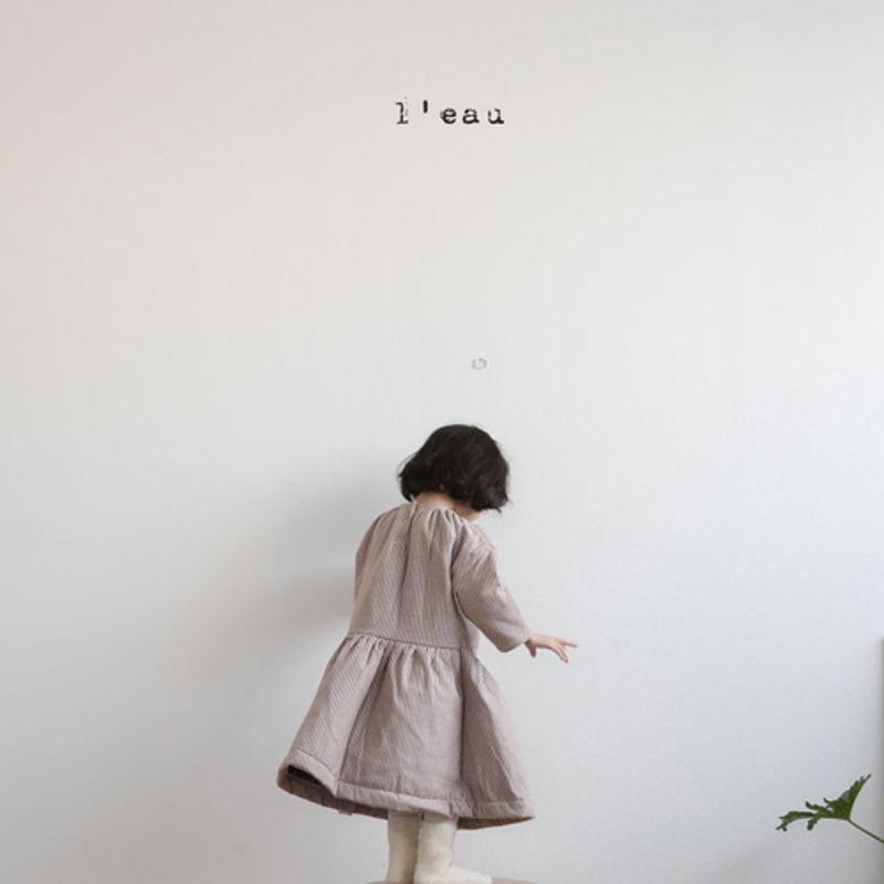 LEAU - Korean Children Fashion - #Kfashion4kids - 2 Type One-piece - 2
