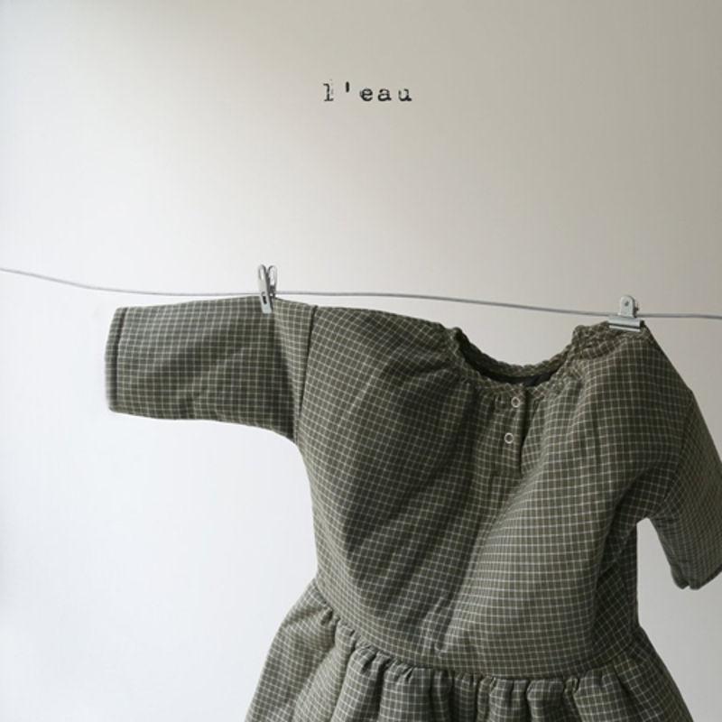 LEAU - Korean Children Fashion - #Kfashion4kids - 2 Type One-piece - 4