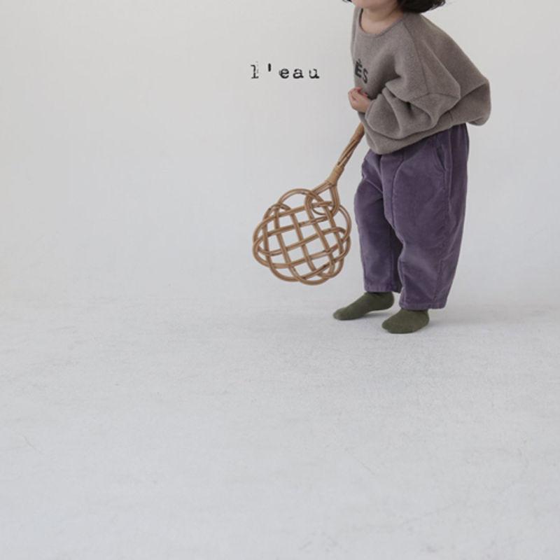 LEAU - Korean Children Fashion - #Kfashion4kids - Cotton Velvet Pants - 3
