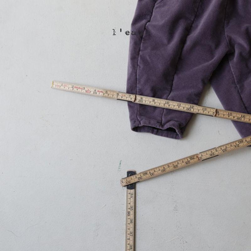 LEAU - Korean Children Fashion - #Kfashion4kids - Cotton Velvet Pants - 6