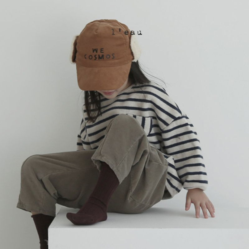LEAU - Korean Children Fashion - #Kfashion4kids - Cotton Velvet Pants - 7