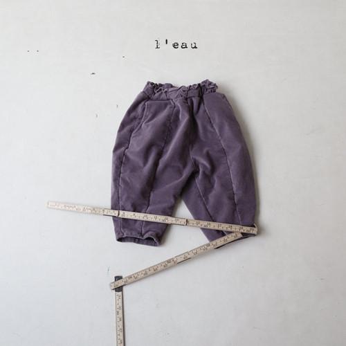 LEAU - BRAND - Korean Children Fashion - #Kfashion4kids - Cotton Velvet Pants