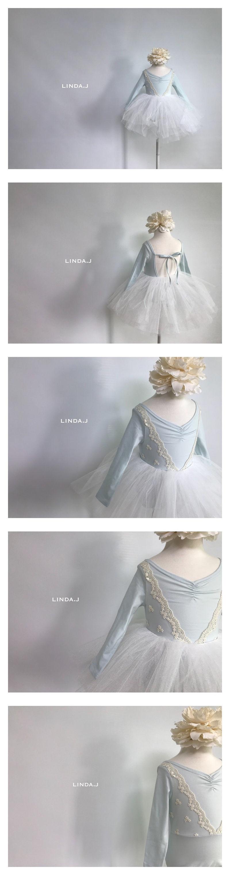 LINDA J - Korean Children Fashion - #Kfashion4kids - Elsa Ballet Bodysuit