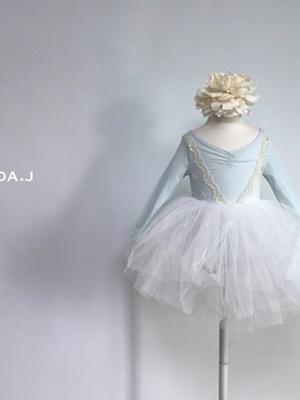 LINDA J - BRAND - Korean Children Fashion - #Kfashion4kids - Elsa Ballet Bodysuit