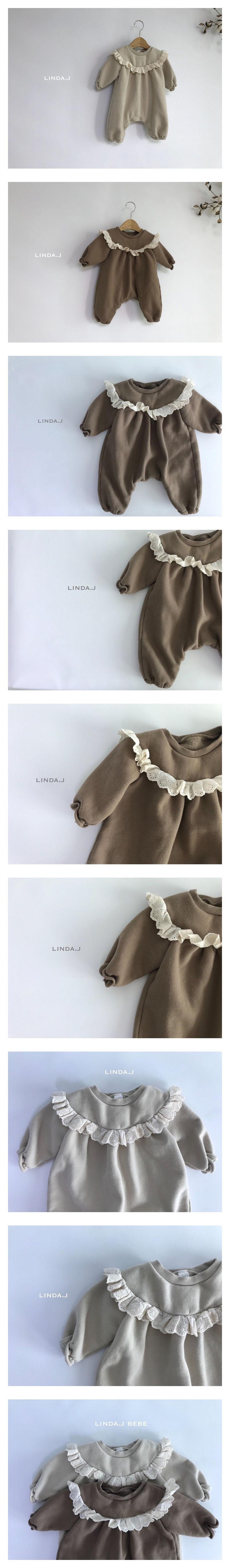 LINDA J - Korean Children Fashion - #Kfashion4kids - Lanny Baby Bodysuit