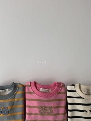 LINDO - BRAND - Korean Children Fashion - #Kfashion4kids - Numbering Fleece MTM