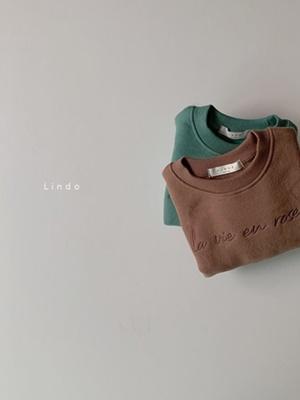 LINDO - BRAND - Korean Children Fashion - #Kfashion4kids - Life Fleece MTM