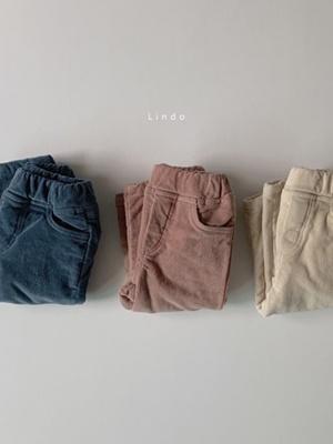 LINDO - BRAND - Korean Children Fashion - #Kfashion4kids - Flex Curdory Pants