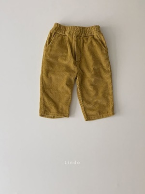 LINDO - BRAND - Korean Children Fashion - #Kfashion4kids - Cookie Curdory Pants