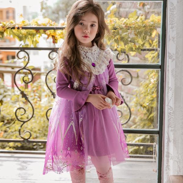 MARI AN U - BRAND - Korean Children Fashion - #Kfashion4kids - New Elsa One-piece