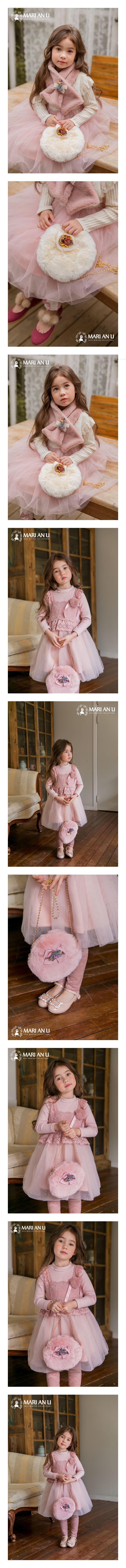 MARI AN U - Korean Children Fashion - #Kfashion4kids - Mink Bag