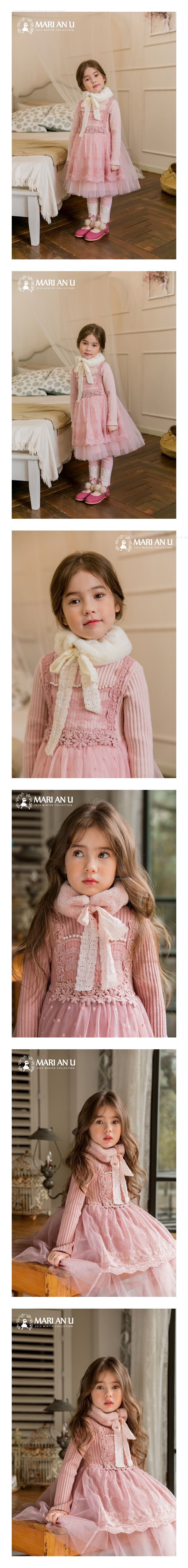 MARI AN U - Korean Children Fashion - #Kfashion4kids - Minuet Muffler