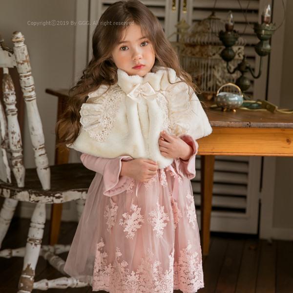 MARI AN U - BRAND - Korean Children Fashion - #Kfashion4kids - Marie Mink Cape