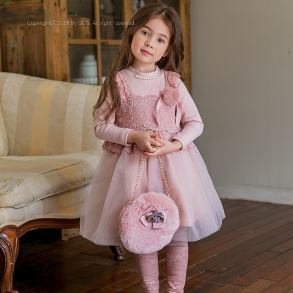 MARI AN U - BRAND - Korean Children Fashion - #Kfashion4kids - Rose One-piece