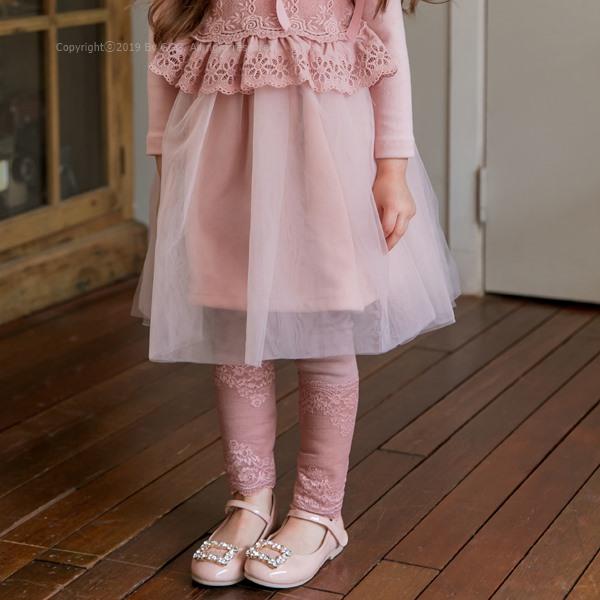 MARI AN U - BRAND - Korean Children Fashion - #Kfashion4kids - Lace Leggings