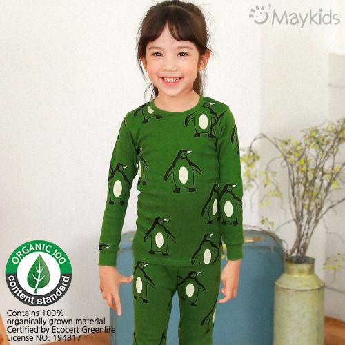 MAYKIDS - BRAND - Korean Children Fashion - #Kfashion4kids - Simple Penguin Playwear